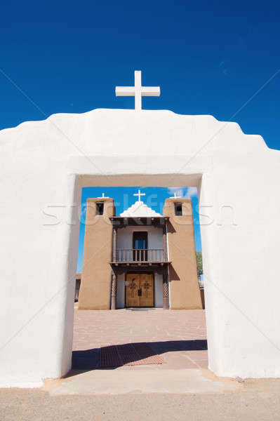 Church in Taos Stock photo © benkrut