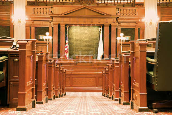 Inside State Capitol Building Stock photo © benkrut