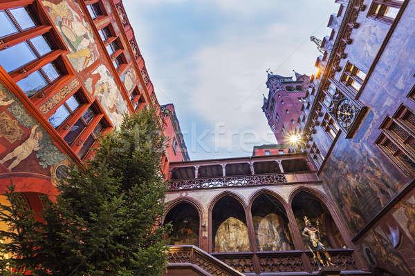 Basel Town Hall  Stock photo © benkrut