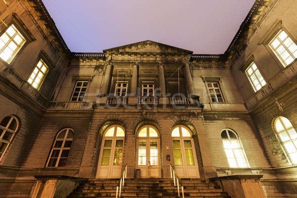 Central Courthouse in Mons Stock photo © benkrut