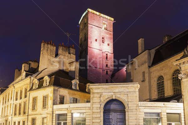 Dijon City Hall at night  Stock photo © benkrut