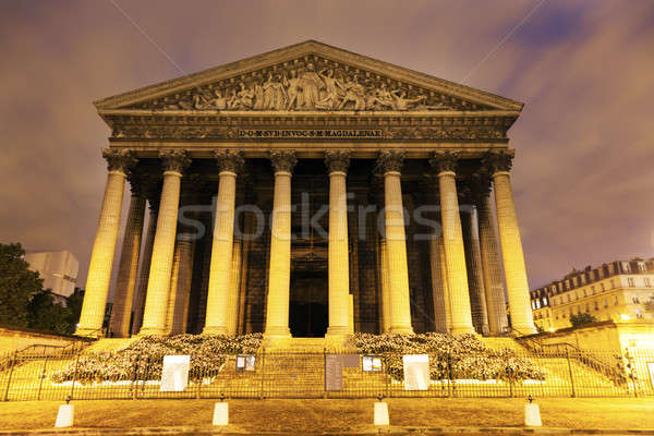 La kościoła Paryż Francja miasta niebieski Zdjęcia stock © benkrut