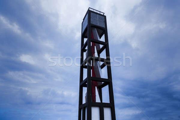 Lighthouse in Puerto de la Cruz  Stock photo © benkrut