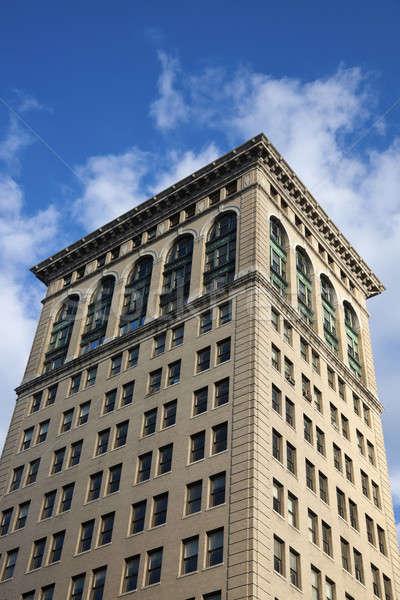 歴史的な建物 青空 空 市 青 旅行 ストックフォト © benkrut