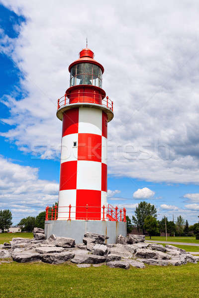 Cape Race Lighthouse in Ottawa Stock photo © benkrut