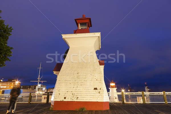 St John Lighthouses. St John, New Brunswick, Canada Stock photo © benkrut