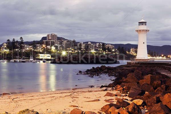 Historic Lighthouse in Wollongong Stock photo © benkrut