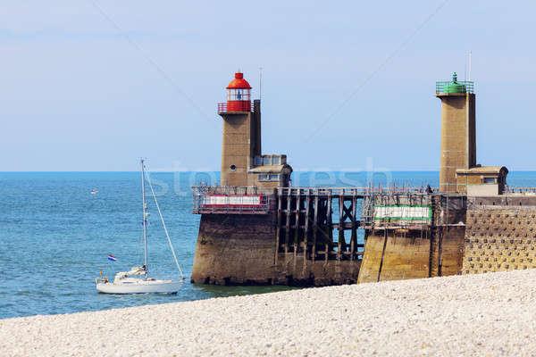 Lighthouses in Fecamp Stock photo © benkrut