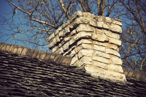 Old Chimney Stock photo © benkrut