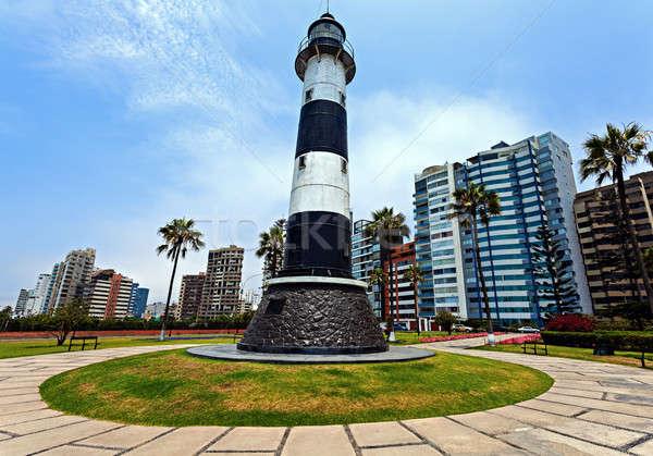 Miraflores Lighthouse Stock photo © benkrut