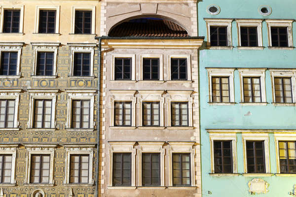 Old architecture of Market Place   Stock photo © benkrut