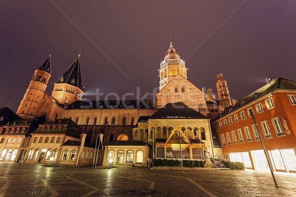 Mainzer Dom St.Martin  Stock photo © benkrut
