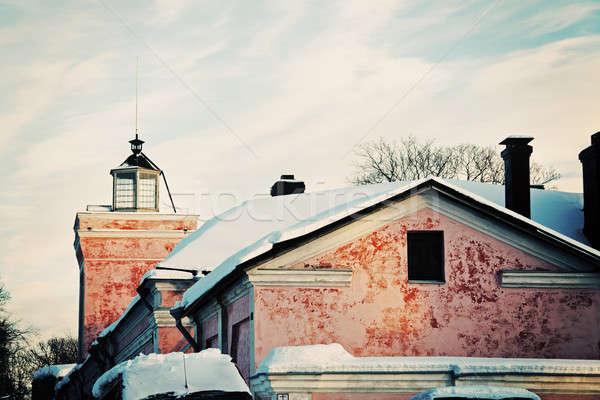 Stok fotoğraf: Mimari · deniz · kale · Helsinki · Finlandiya