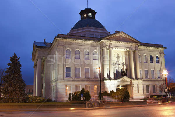 Boone County historic courthouse Stock photo © benkrut