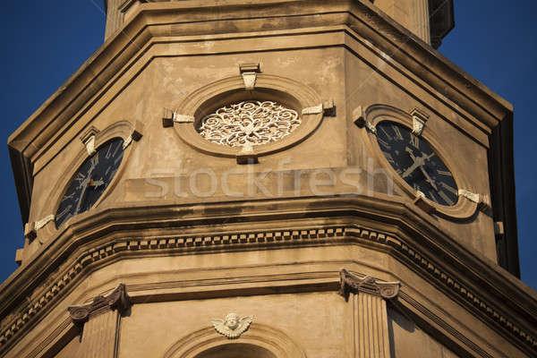 St. Philip's Episcopal Church in Charleston, SC. Stock photo © benkrut