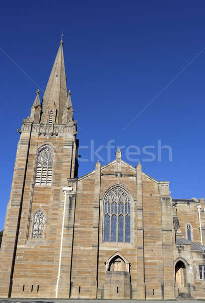 Igreja Canberra centro céu arquitetura religião Foto stock © benkrut