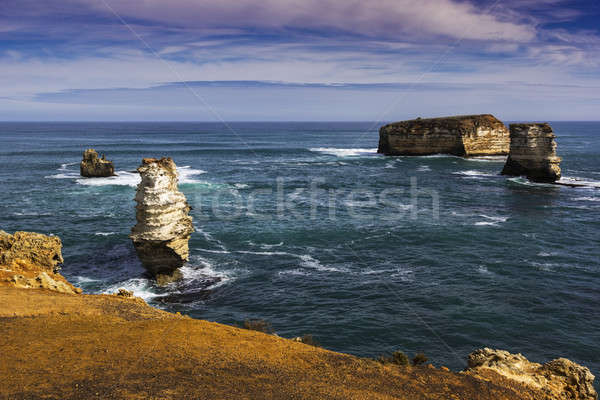 Cliffs and rock formation in Victoria  Stock photo © benkrut