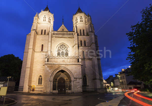 St Benigne Cathedral in Dijon Stock photo © benkrut