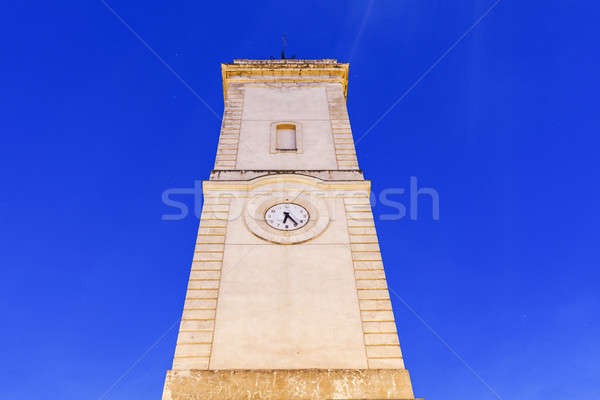 Clock Tower on Place de l'Horloge in Nimes Stock photo © benkrut
