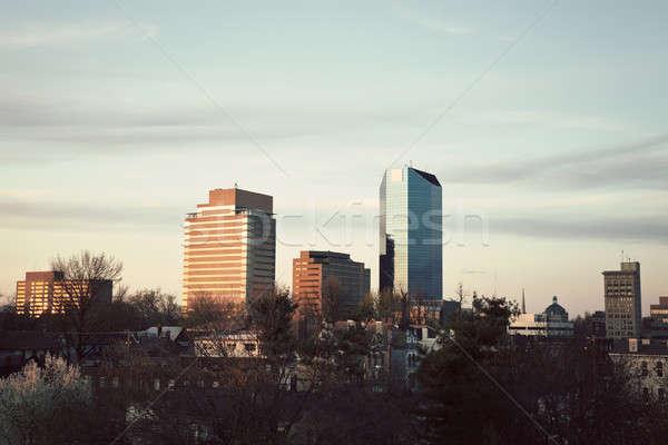 öğleden sonra şehir merkezinde Kentucky ABD Stok fotoğraf © benkrut
