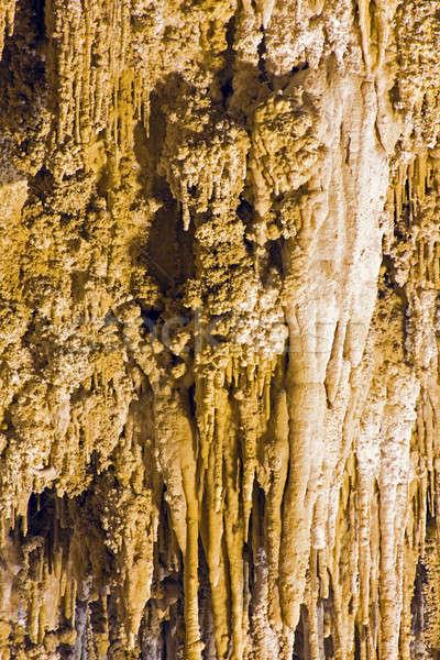 парка Нью-Мексико пейзаж рок каменные подземных Сток-фото © benkrut