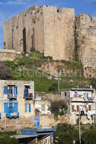 Citadel of Raymond de Saint-Gilles Stock photo © benkrut