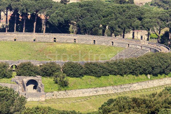 Amphitheatre of Pompeii Stock photo © benkrut