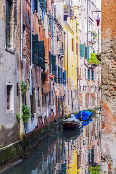 Corolful architecture of Venice Stock photo © benkrut