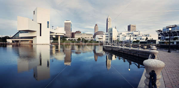 Panorama of Cleveland  Stock photo © benkrut