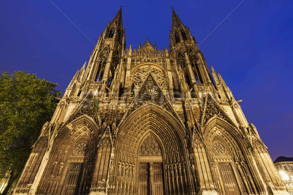 Abbey church of Saint-Ouen in Rouen Stock photo © benkrut