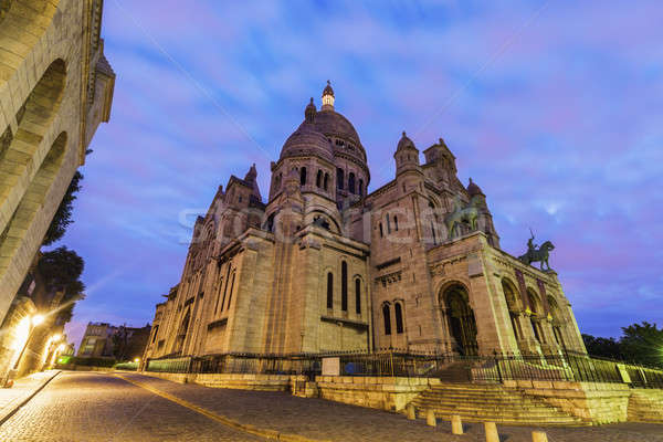 Basilica of the Sacred Heart in Paris  Stock photo © benkrut