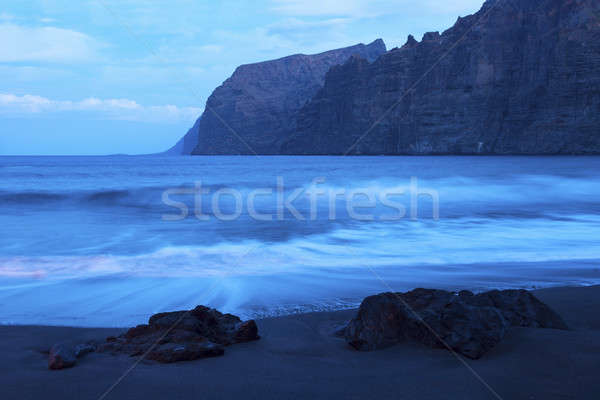 The cliffs of Los Gigantes at dawn Stock photo © benkrut