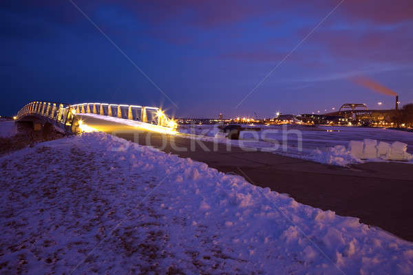 Lakefront in Milwaukee Stock photo © benkrut