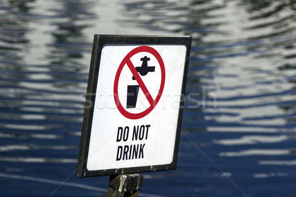 Do not drink Stock photo © benkrut