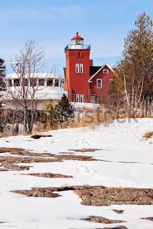 Two Harbors Lighthouse Stock photo © benkrut