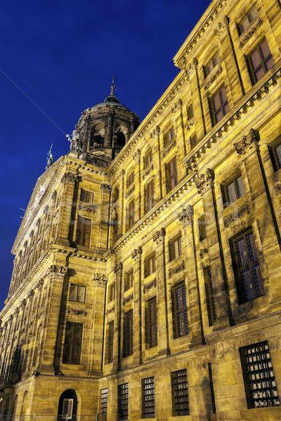 Stok fotoğraf: Kraliyet · saray · Amsterdam · kuzey · Hollanda · Hollanda