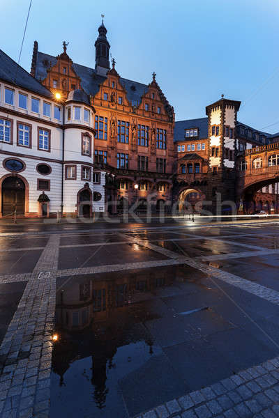 Paul's Square architecture in Frankfurt  Stock photo © benkrut