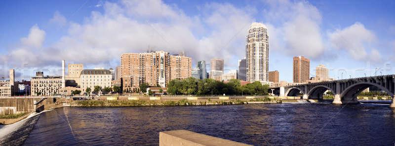 Panoramic Minneapolis Stock photo © benkrut