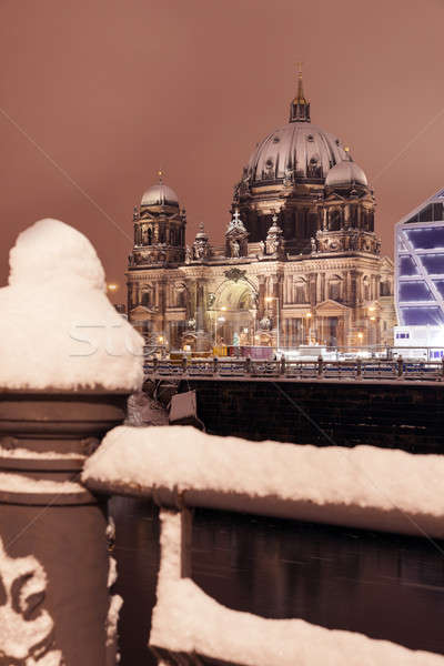 Berlin Cathedral Stock photo © benkrut