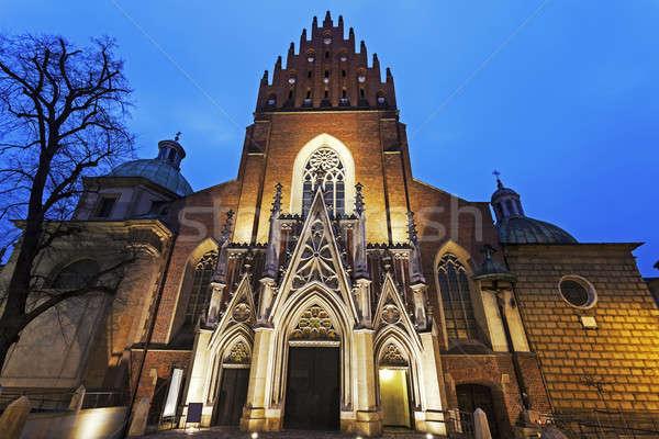 Holy Trinity Church in Krakow  Stock photo © benkrut