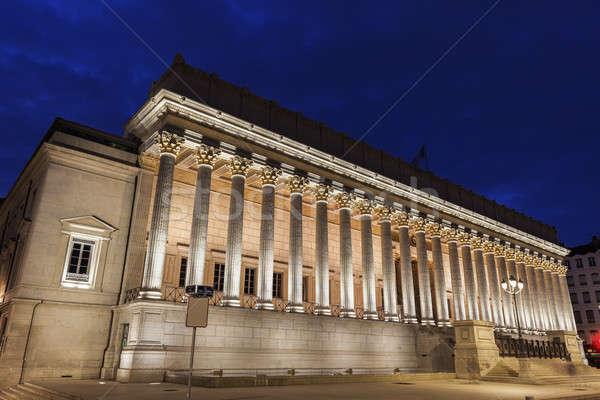 Courthouse in Lyon Stock photo © benkrut