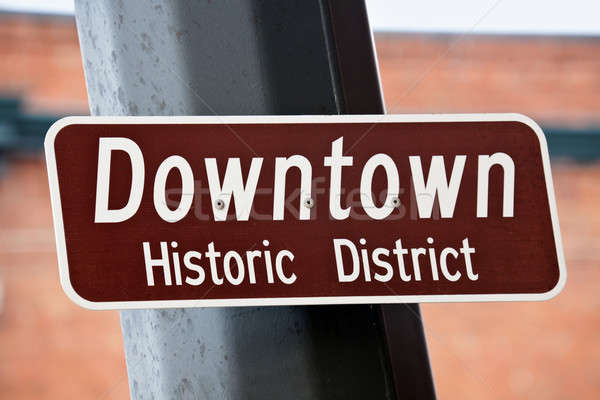 Downtown - Historic District Stock photo © benkrut