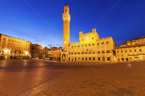 Mairie Toscane Italie architecture Europe tour Photo stock © benkrut