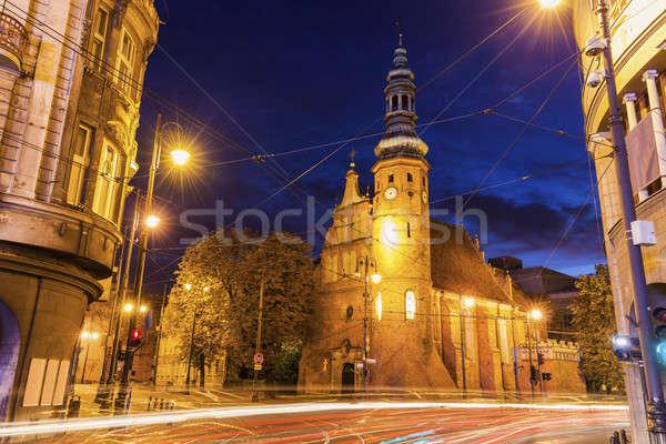 Klaryski Church in Bydgoszcz Stock photo © benkrut