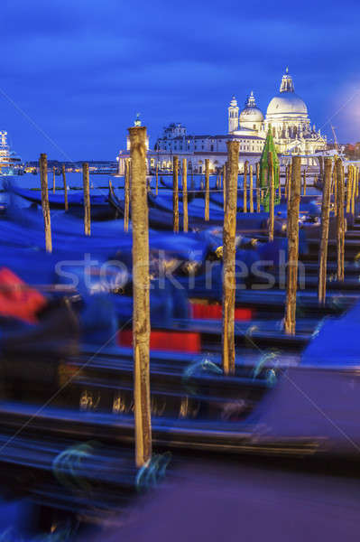 Gondolas in Venice Stock photo © benkrut