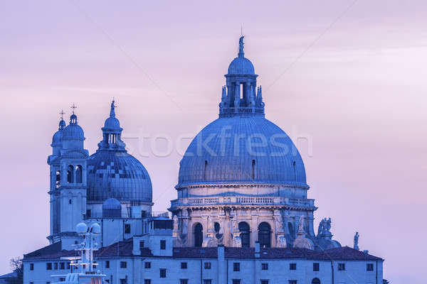 Santa Maria della Salute in Venice Stock photo © benkrut
