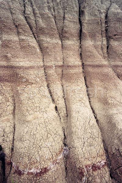 Patterns in Badlands   Stock photo © benkrut