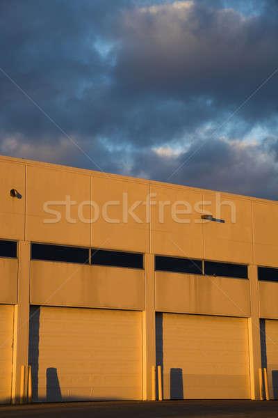 空っぽ ドック 産業 地区 ストックフォト © benkrut