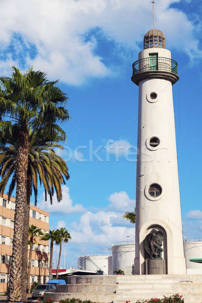Lighthouse in the north part of Las Palmas Stock photo © benkrut