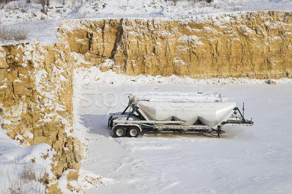 Stone quarry  Stock photo © benkrut